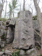 Rock Climbing Photo: This pillar sits fairly close to the West Bluff Tr...