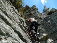 Rock Climbing Photo: I highly recommend topping out.  This last pitch, ...