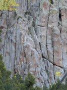 Rock Climbing Photo: Hidden Valley Wall, Obe Won Canobe area.