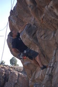 Rock Climbing Photo: dont know the route name but its a sweet 5.10 c