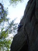 Rock Climbing Photo: Groovin'
