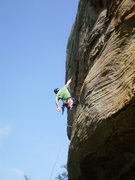 Rock Climbing Photo: Starting up the steep start to get to that amazing...