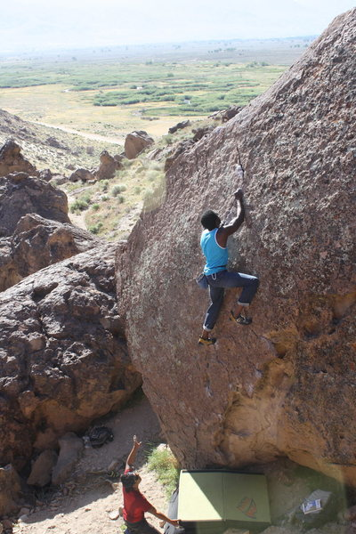 Rock Climbing Photo: The pursuit of wow V0.