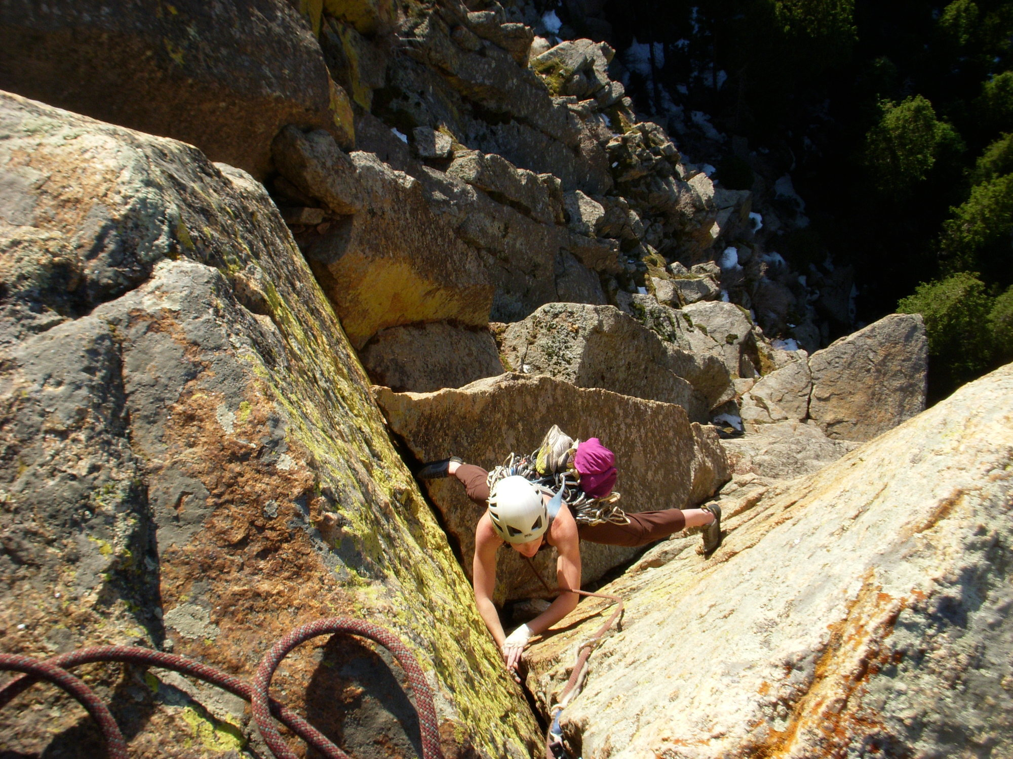 Rock climbing photo pikes peak granite south platte - Garden of the gods rock climbing ...