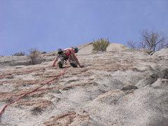 Rock Climbing Photo: A warm day on Eggo