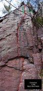 Rock Climbing Photo: Cheatah
