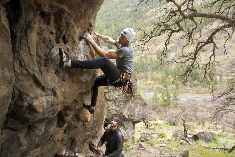 Rock Climbing Photo: Starting King Tut's Tomb