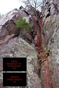 Rock Climbing Photo: Dark Corner