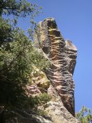 Rock Climbing Photo: Wild feature just east of Hypothermia.