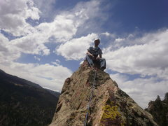 Rock Climbing Photo: We were gonna bring a bag of chips for the summit ...