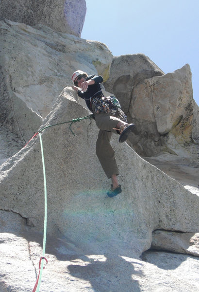 Rock Climbing Photo: Traitor Horn; the true horn seen in the background...