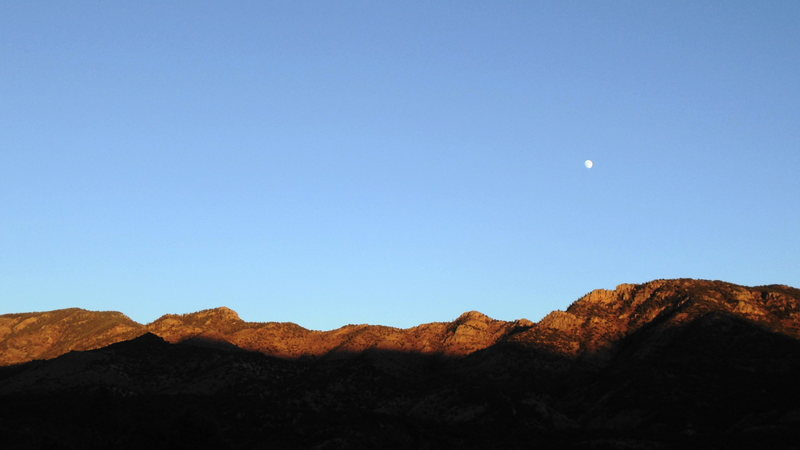 Moonrise from Sand Gulch.