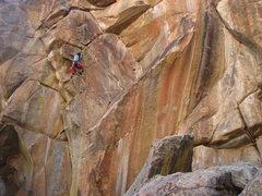"""Rock Climbing Photo: """"Tina, meet Patina."""""""