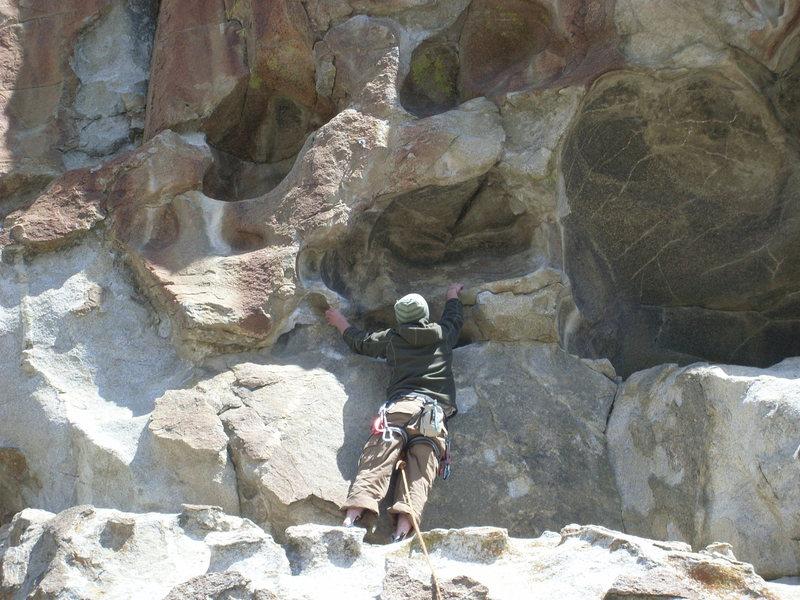 Rock Climbing Photo: hueco time