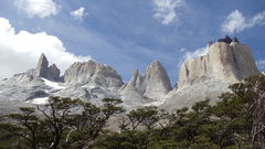 Rock Climbing Photo: endless lines in Torres del Paine