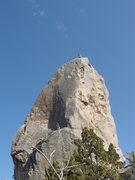 Rock Climbing Photo: Summit! Classic line!