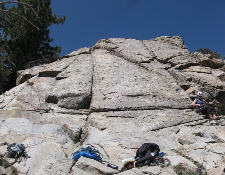 Rock Climbing Photo: Tanglewood Slab