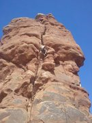 Rock Climbing Photo: Owl rock moab