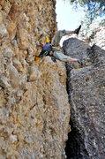 Rock Climbing Photo: climbing in Maple Canyon, Utah