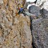 climbing in Maple Canyon, Utah