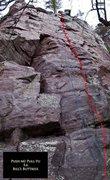 Rock Climbing Photo: Push Mi Pull Yu