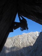 Rock Climbing Photo: the second pitch