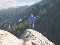 Rock Climbing Photo: On the Satan's Slab Ridge.