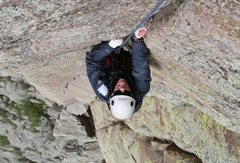 Rock Climbing Photo: walt bailey memorial route, devil's tower, WY