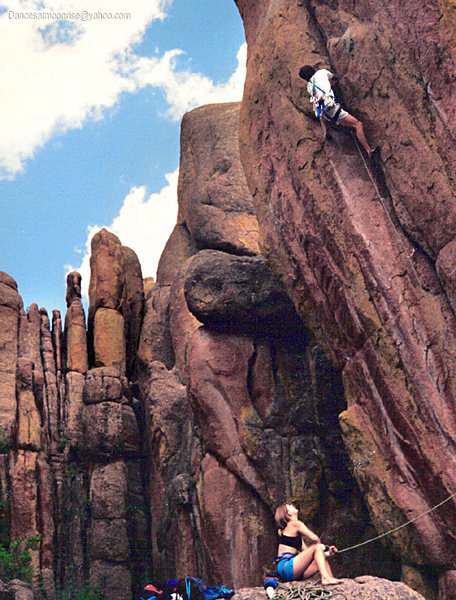 Rock Climbing Photo: 1991 Film Archive!
