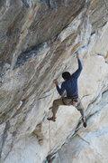 Rock Climbing Photo: Cutting feet isn't necessary, but it is stylish.