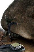 Rock Climbing Photo: Project at Ute Pass Colorado Springs, CO  Photo: H...