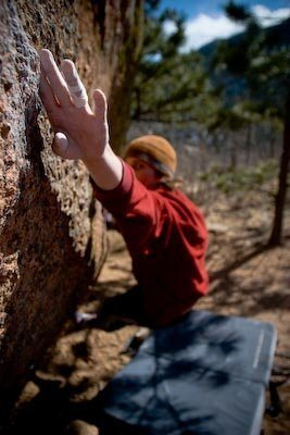 Max Krimmer on Cool Cuts for TOJO (V9)<br> Ute Pass, CO<br> <br> Photo: Ryan Nieto