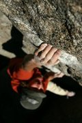 Rock Climbing Photo: Max Krimmer on The Ladder (V0) Area A, Mt. Evans  ...