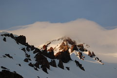 Rock Climbing Photo: view of Casaval Ridge from campsite around 10,000 ...