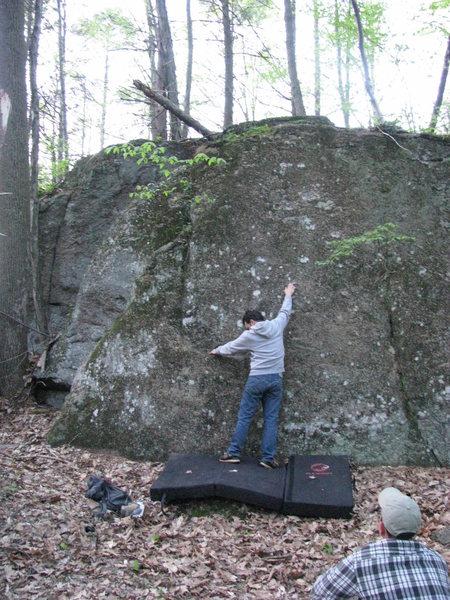 Rock Climbing Photo: Swampy pants