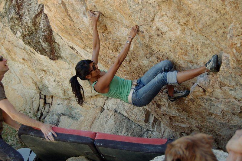 Rock Climbing Photo: Mangooo