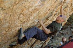 Rock Climbing Photo: Cheeeen