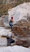 Rock Climbing Photo: Flash!