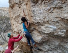 Rock Climbing Photo: Rad...FFA?
