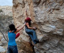 Rock Climbing Photo: back to back sends with different beta