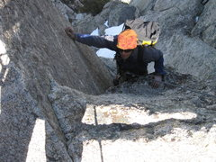 Rock Climbing Photo: P6 getting cold