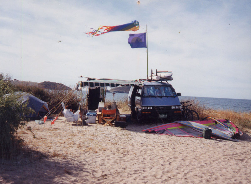 My Baja home sweet home<br> Photo: Olaf Mitchell