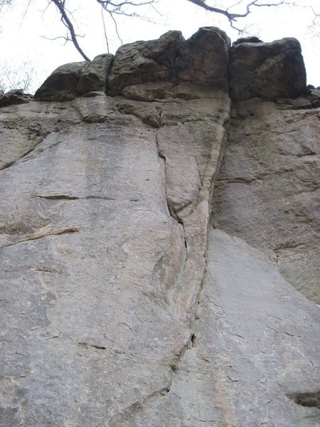 Rock Climbing Photo: Right side of this pic I believe.