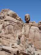 Rock Climbing Photo: An interesting balanced rock across from RC Rock, ...