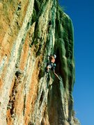 Rock Climbing Photo: sending Thetis