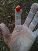 Rock Climbing Photo: bradbury byproduct...like crimping on knives