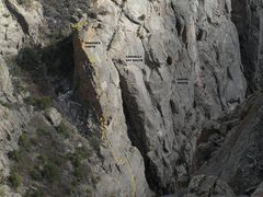Rock Climbing Photo: The Dragon's Tooth.