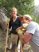 Rock Climbing Photo: Your basic shovel lean.