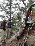 Rock Climbing Photo: Thumbs up.
