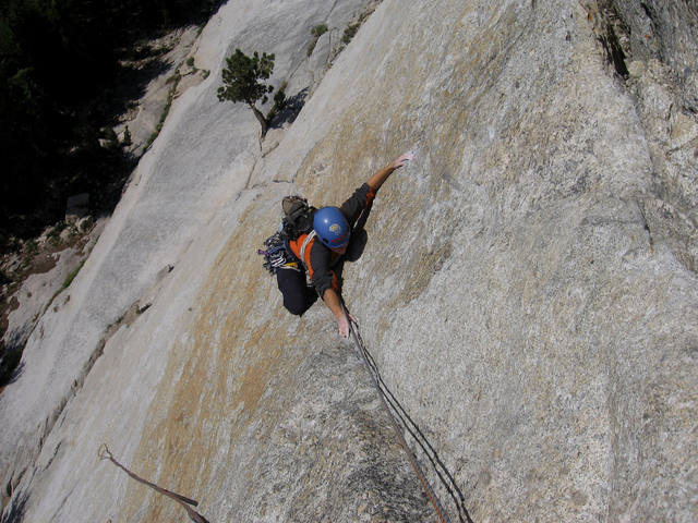 West Crack (5.9), Daff Dome, Yosemite, CA